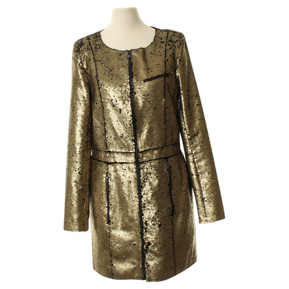 Faith Connexion Sequin jas in goud