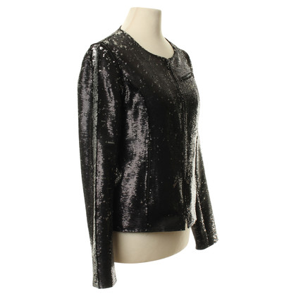 Faith Connexion Sequin jacket in anthracite