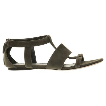 Gucci Sandalen aus Wildleder
