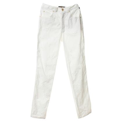 MCM Jeans con ricamo