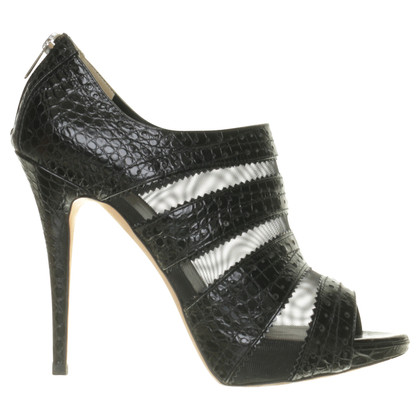 Christian Dior Ankle boots with mesh inserts