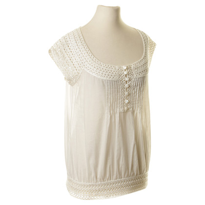 Karen Millen Top with crochet detail