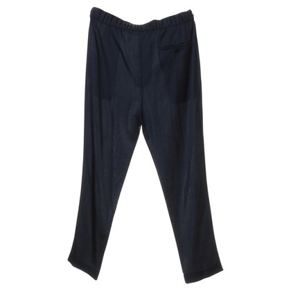 Philipp Plein Sarouel trousers in dark blue