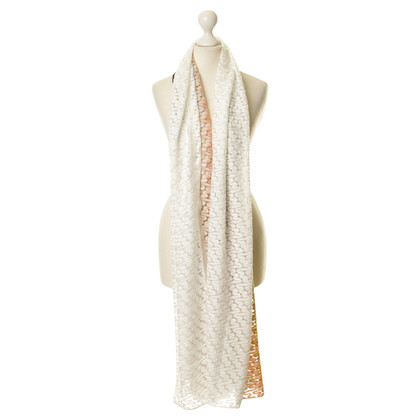 Missoni XL scarf with gradient