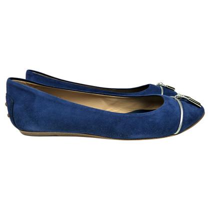 Tod's Medium blue of ballerinas