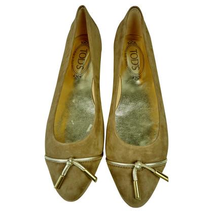 Tod's Ballerinas in beige