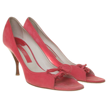 Laurèl Peep toes rosa