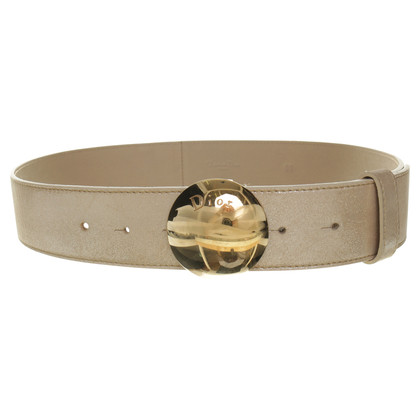Christian Dior Belt with logo buckle