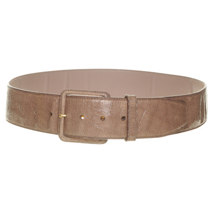 Miu Miu Belt in reptile finish