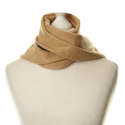 Altre marche Renard - scialle di cashmere e pelle