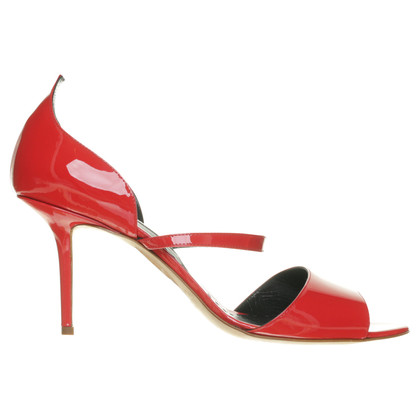 Rupert Sanderson Sandal in patent leather