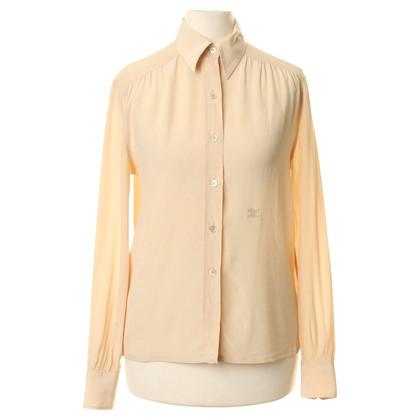 Céline Silk blouse beige