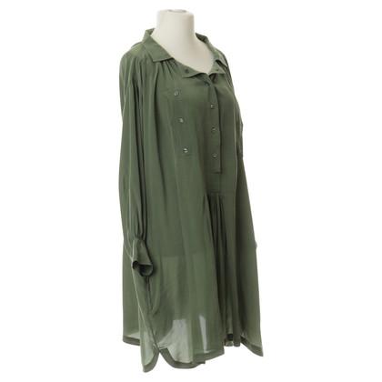 Isabel Marant Etoile Silk dress in oversize look