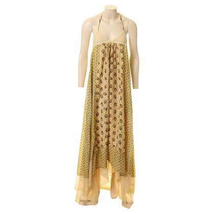 Andere merken Twin-set van Simona Barbieri Maxi jurk met floral print en terug