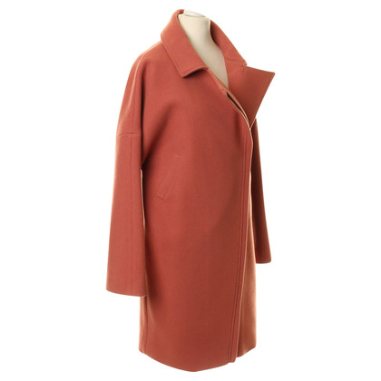 Reiss Cappotto con zip diagonale