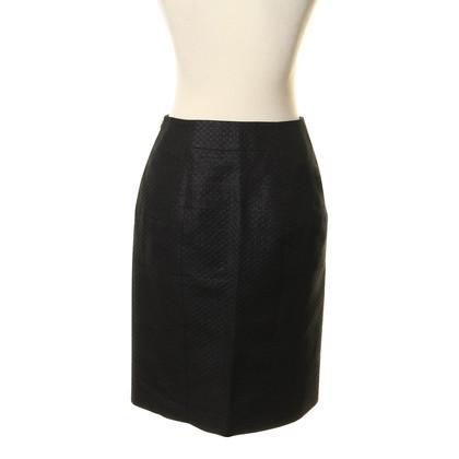 Hugo Boss Textured pencil skirt