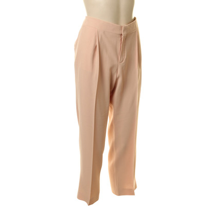 Chloé Trousers in Rosé and apricot