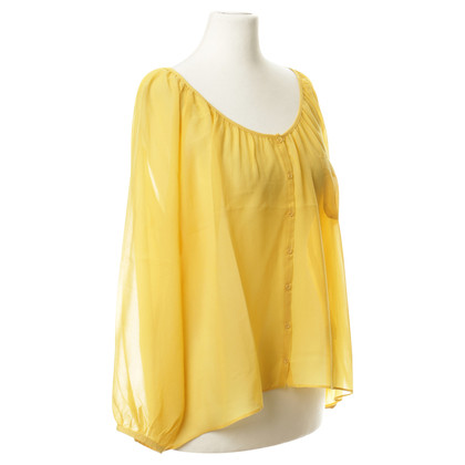 American Vintage Silk blouse in yellow