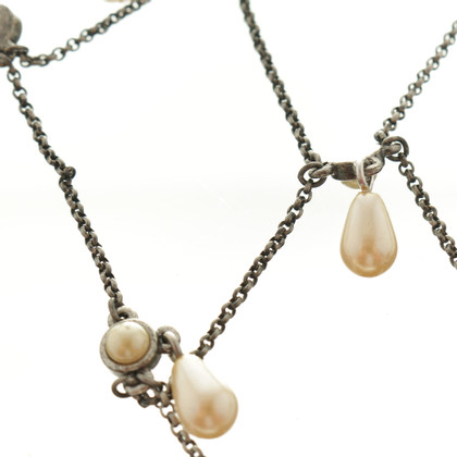 Christian Dior Necklace with beaded trim