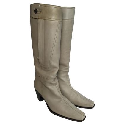 Miu Miu Grijze cowboy boots