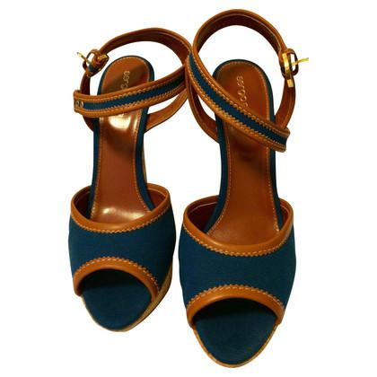 Sergio Rossi Cork Sandals by Sergio Rossi