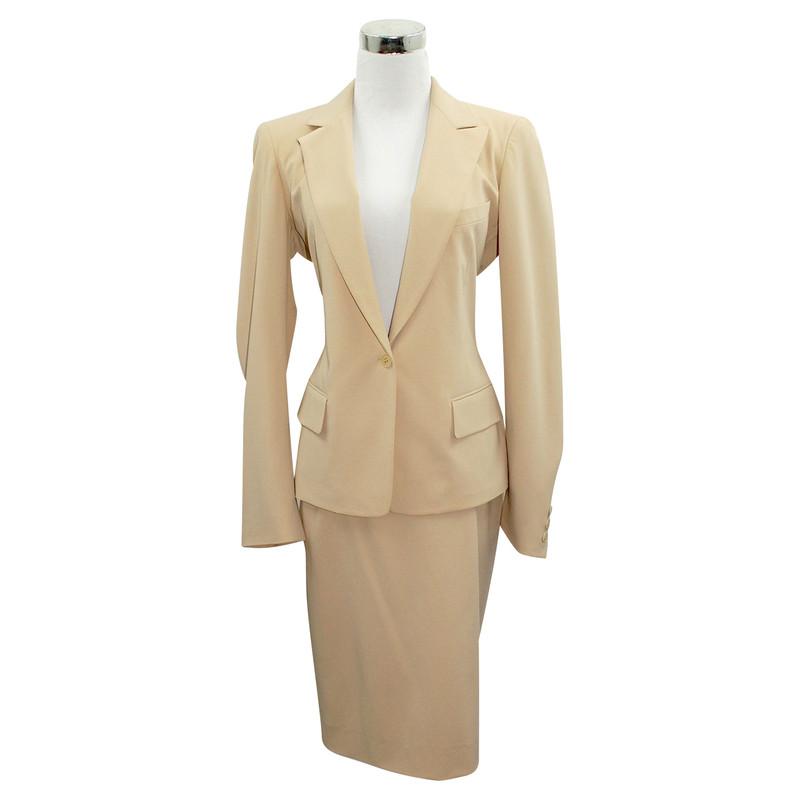 Donna Karan Kostuum in beige