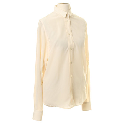 Dolce & Gabbana Silk blouse in cream