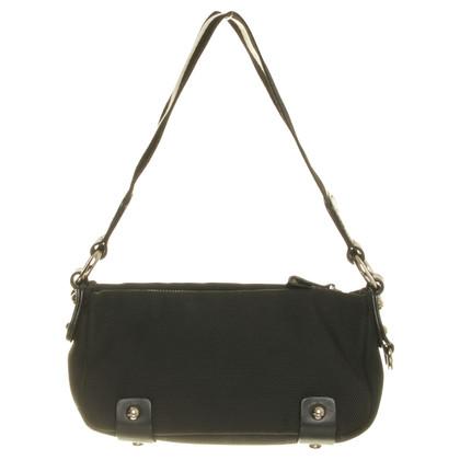 Bally Handtasche mit Metallic-Besatz