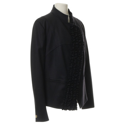 René Lezard Jacket with Ruffles