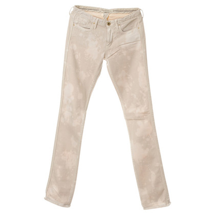 Twenty8Twelve Jeans in crème met patroon