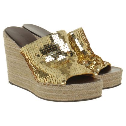 Marc Jacobs Wedges mit Pailletten