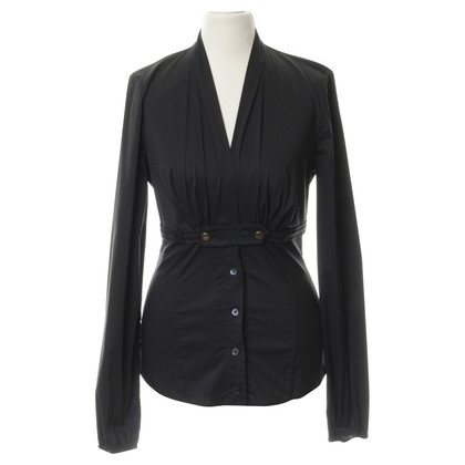 Gucci Blouse with Ruffles and waist band