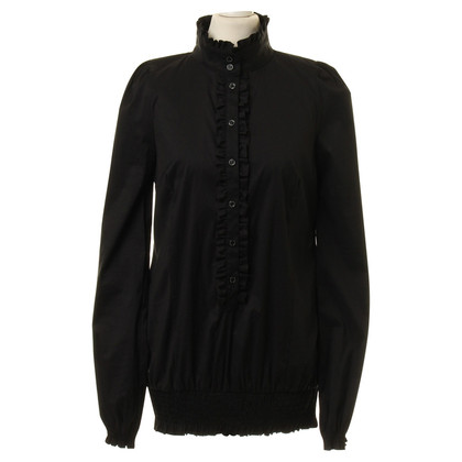 Patrizia Pepe Blouse with Ruffles