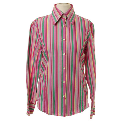 Etro Blouse with coloured stripes