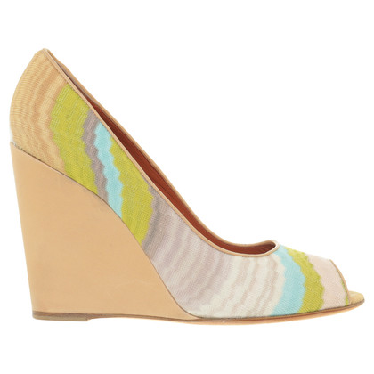 Missoni Wedges mit Muster