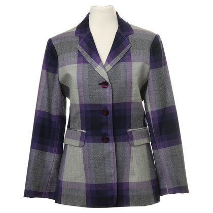 Moschino Checkered wool Blazer