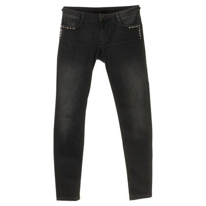 Maje Jeans met drukknopen