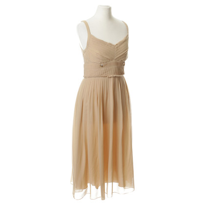 Riani Beige zijden jurk
