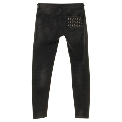 Maje Jeans mit Nieten