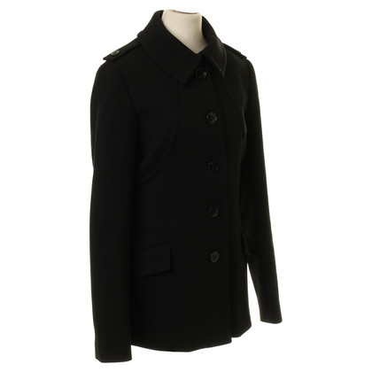 Reiss Coat in black