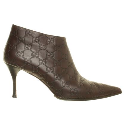 Gucci Stivali alla caviglia guccissima