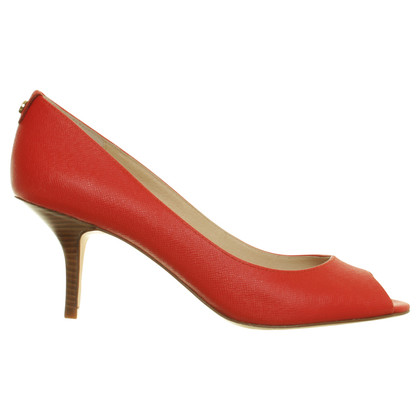 Michael Kors Peep-toes in orange red