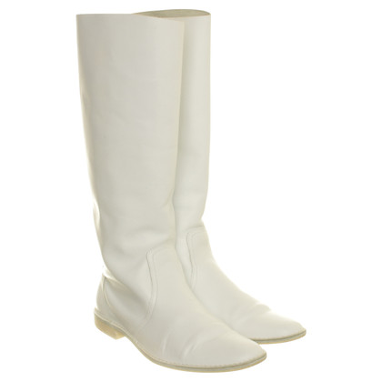 Pierre Hardy White boots