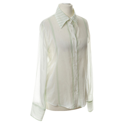 Armani Jeans Cotton blouse with silk
