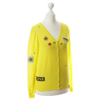 "Moschino Vest ""Love and Peace"""
