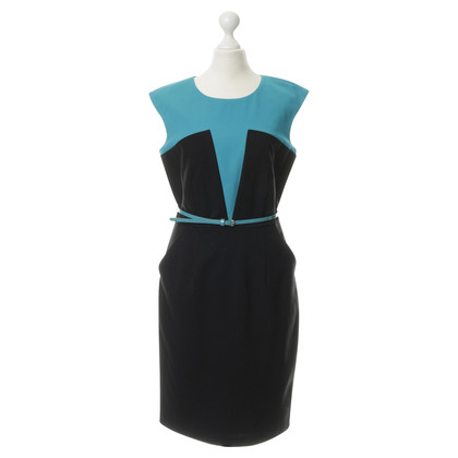 Calvin Klein Sheath dress in bicolor