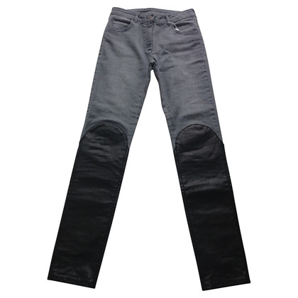 Maison Martin Margiela Jeans with leather