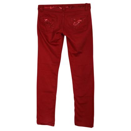Armani Jeans Rote Hose