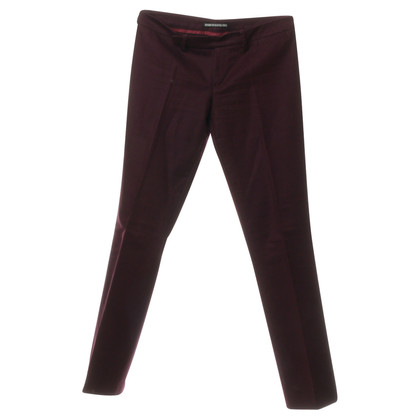 Drykorn Trousers in dark red