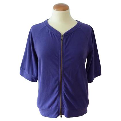American Vintage Sweatshirt Jacke mit Reißverschluss